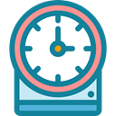 time, tool, Tools And Utensils, Clock, watch, Time And Date DarkCyan icon