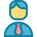 people, Business And Finance, user, profile, Avatar, employee DarkCyan icon