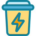 Baskets, Basket, Can, Bin, trash bin, Business And Finance, Garbage, recycle, recycling, Tools And Utensils, trash can DarkCyan icon