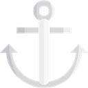 Anchor, Anchors, miscellaneous, travel, sailing, navy, tattoo, sail, Tools And Utensils Black icon