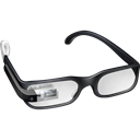 Glasses, googleglass, google, Boss Black icon