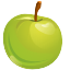 healthy, food, Apple, green, Fruit, organic YellowGreen icon