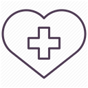 care, recovery, hospital, medicine, treatment DimGray icon