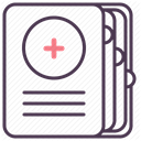 hospital, recovery, treatment, care, medicine DarkSlateGray icon