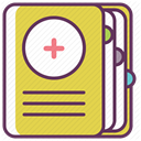 recovery, treatment, care, medicine, hospital SandyBrown icon