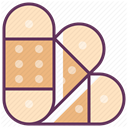 hospital, treatment, care, recovery, medicine Bisque icon