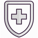 hospital, recovery, medicine, care, treatment DarkSlateGray icon