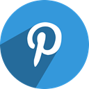 media, network, Social, pinterest DodgerBlue icon