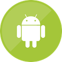 Os, Android, Computer, Mobile, Operating system YellowGreen icon