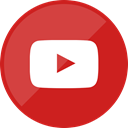 website, youtube, video Firebrick icon