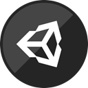 Unity, game engine, unity2d, unity3d DarkSlateGray icon