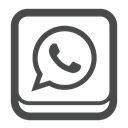 Whatsapp, Account, Connect, social media, Social, profile DarkSlateGray icon