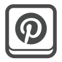 Account, social media, Connect, Social, pinterest, profile DarkSlateGray icon