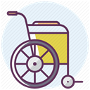 care, medicine, hospital, recovery, treatment Lavender icon