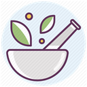 recovery, treatment, care, hospital, medicine Lavender icon