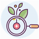 treatment, hospital, care, medicine, recovery Lavender icon