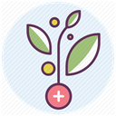 recovery, hospital, medicine, care, treatment Lavender icon
