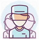 medicine, care, treatment, hospital, recovery Lavender icon