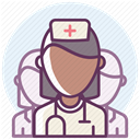 hospital, care, recovery, medicine, treatment Lavender icon