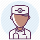 hospital, medicine, recovery, treatment, care Icon