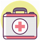 treatment, care, medicine, recovery, hospital Khaki icon