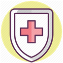 care, treatment, hospital, medicine, recovery Khaki icon