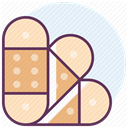 hospital, treatment, recovery, medicine, care Bisque icon
