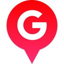 Social, google, Logo, media Crimson icon