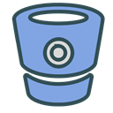 robot, technology, tech, Brand, Container CornflowerBlue icon