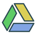 storage, drive, Brand, google, triangle Icon
