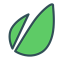 nature, Brand, Forest, Leaf, plant MediumSeaGreen icon