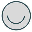 Face, smiley, Emoticon, Avatar, Brand Gainsboro icon
