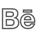 Brand, Letter, Be Black icon