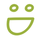 smiley, Avatar, Face, Emoticon Black icon