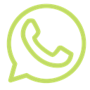 Brand, phone, Whatsapp, Circle, shape Black icon