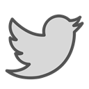 Animal, twitter, Social, media, bird Gainsboro icon