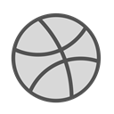 Basketball, Game, Brand, dribbble, sport Gainsboro icon
