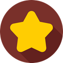 rate, Favourite, Favorite, shapes, star, signs, interface SaddleBrown icon