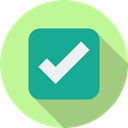 checking, signs, check mark, option, tick, Checked, success, interface PaleGreen icon
