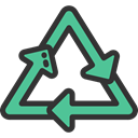 recycle, Arrows, Arrow, Ecology And Environment, environment, recycling, Container, symbol, nature, signs DarkSlateGray icon