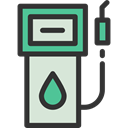 petrol, gas station, gasoline, Energy, fuel, Ecology And Environment DarkSlateGray icon