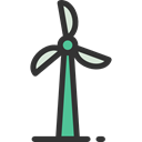 Ecologism, Ecology And Environment, eolic, Ecological, Wind Mill, Eolical, technology Black icon