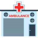 transport, vehicle, Ambulance, medical, buildings, emergency, Automobile LightSlateGray icon