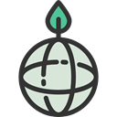 planet, plant, Ecologic, nature, Ecology And Environment, Planet Earth, leaves, Earth Globe, ecology Black icon