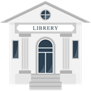 education, Book, Library, Literature, Building, study, buildings, reading, Books WhiteSmoke icon