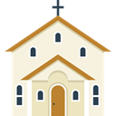 church, buildings, Love And Romance, Chapel, temple, christian, religion Beige icon