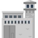 buildings, Prison, jail, criminal, Jailhouse, Imprisoned LightGray icon