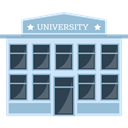 Classroom, college, school, Monuments, buildings, Architecture And City, university DarkSlateGray icon