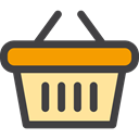 online store, Commerce And Shopping, shopping basket, commerce, Shopping Store, Supermarket DarkSlateGray icon