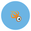 Squidoo CornflowerBlue icon